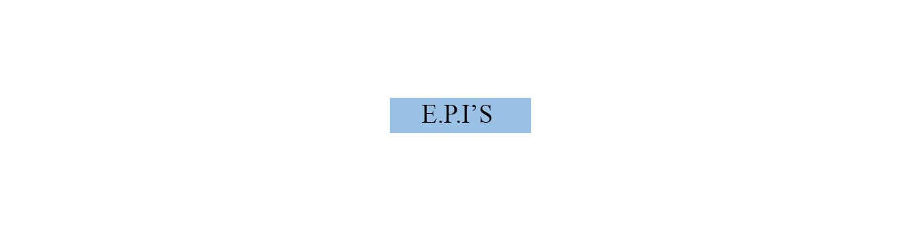 Equipos de Protección EPI's